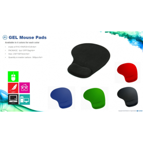GEL MOUSE PAD RED