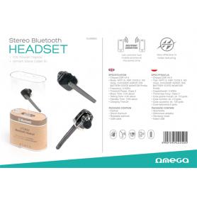 OMEGA EARPHONES BLUETOOTH R600 V4.0 BK