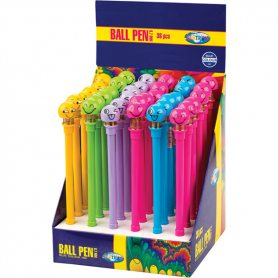 BALL PEN SMILE BLU INK 0.7MM