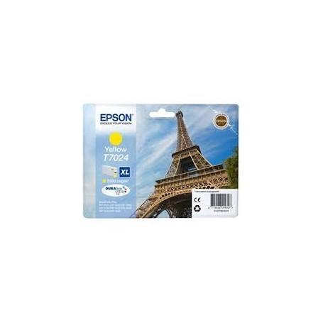 EPSON T7024 WP4000/4500 YE XL