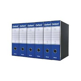 REGISTRATORI OXFORD G85 D.SO 8 BLU