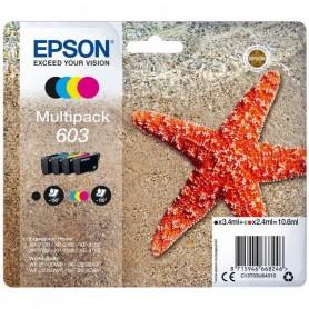 MULTIPACK EPSON 603 BK/C/M/Y