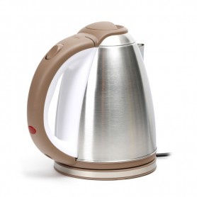 OMEGA ELECTRIC KETTLE 1500W STAINLESS