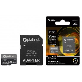 PLATINET MICROSDXC SD 256 GB CLASS 10