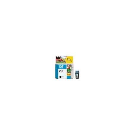 HP DJ 610/612C INK BK 20-C6614D
