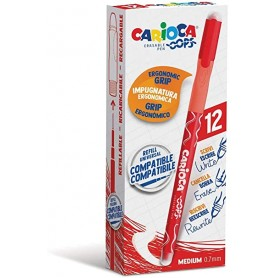 PENNE CARIOCA OOPS 43039 ROSSO 12PZ