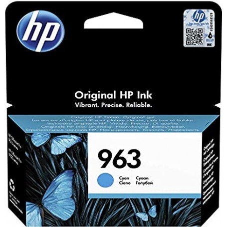 HP N.963 CIANO CARTUCCIA INK JET 700PG