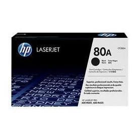 HP LASER 400 M401/425 2.7K BK 80A